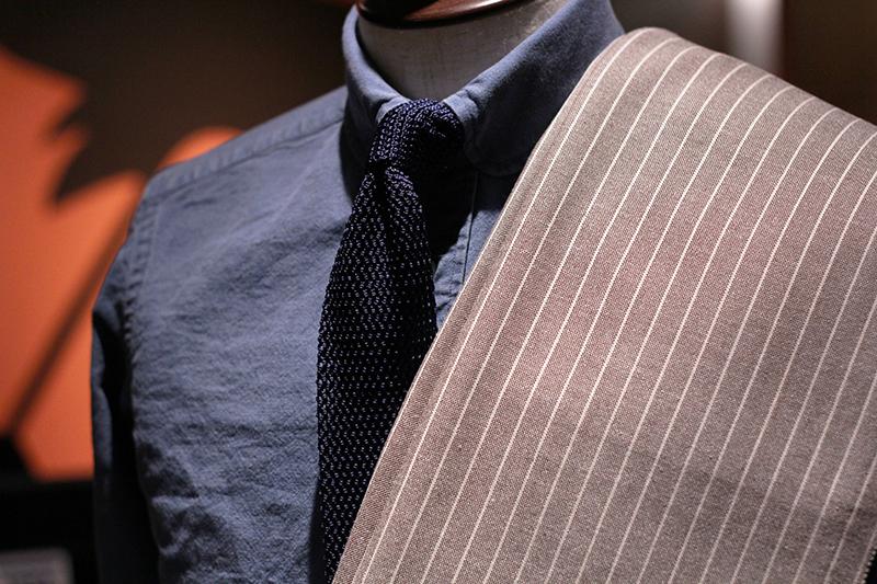 スーツ生地コーディネート例