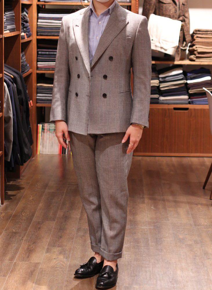スーツ仕上がりました!バルマー&ラムズ